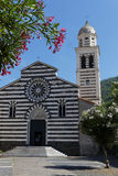 Square of church in Levanto Royalty Free Stock Photography