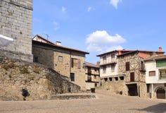 Free Square Church, Miranda Del Castanar; Sierra De Francia Nature Royalty Free Stock Image - 125667436