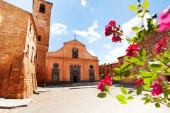 Square and Church of St. Donato. Royalty Free Stock Photos