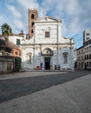 The square and the church of st. john lucca tuscany Italy europe Stock Photo