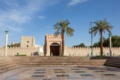 Square in the city of Al Ain Stock Photo