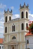 Square in city Banska Bystrica Stock Photography