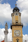 Square in city Banska Bystrica Royalty Free Stock Photos