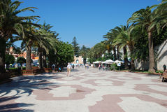 Square in the city of Tarifa Royalty Free Stock Photography