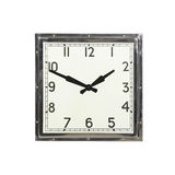 Square clock Stock Image
