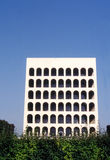Square coliseum in Eur - Rome Stock Images