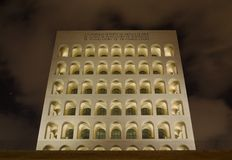 Square coliseum Royalty Free Stock Images
