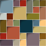 Square color background Stock Image