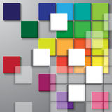 Square color background Stock Photography