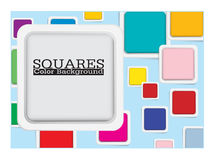 Square color background Royalty Free Stock Images