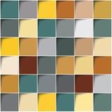 Square color background. 3d Square color background. Earth tones Stock Image
