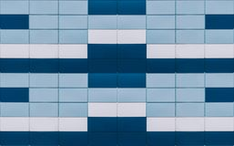 Square color background. Blue and white colors stock image