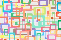 Square Colorful Background Royalty Free Stock Image