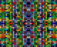 Square colorful background template Stock Photography