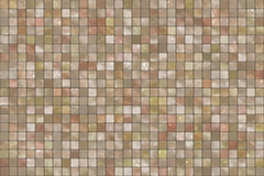 Square colorful mosaic tiles. Background Royalty Free Stock Photography