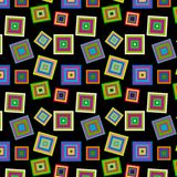 Square  colorful pattern Stock Photography