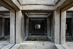 SQUARE CONCRETE Stock Images