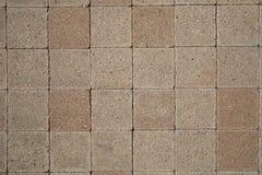 Square concrete ground. A square concrete ground background Stock Photo