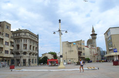 Square of Constanta Old town Royalty Free Stock Photography