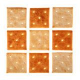 Square cookie Royalty Free Stock Photo