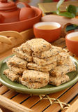 Square cookies (方塊酥) Royalty Free Stock Photography
