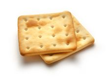 Square cookies Stock Images