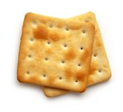 Square cookies Royalty Free Stock Photography