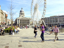 Square and council house, Nottingham. Stock Images