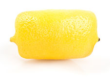 Square (cube) lemon Stock Photography