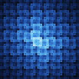 Square cubes pattern Stock Photography
