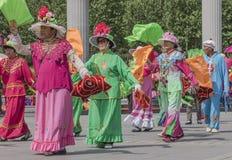 Square dance de China de nordeste Foto de archivo libre de regalías