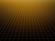Square dark striped decorative background. Square dark striped decorative yellow black background Royalty Free Stock Image