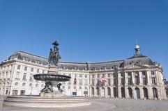 Free Square De La Bourse At Bordeaux, France Stock Photo - 16862770