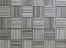 Square decorative tile like bamboo products Royalty Free Stock Photo