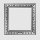 Square decorative vector frame Stock Images