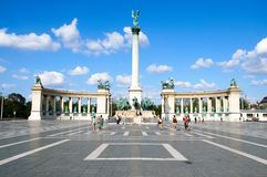 Budapest, Hungary, A square dedicated to the Hungarian Kings. Royalty Free Stock Photography