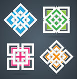 Square design elements Royalty Free Stock Photos