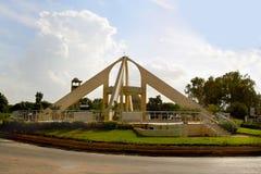 The square in Dodoma town (Tanzania). Stock Photo