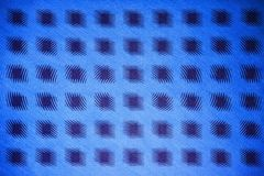 Square dots wave. Blue tone square dots wave Royalty Free Stock Image