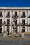 Square in El Puerto Santa Maria Royalty Free Stock Photos