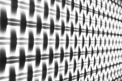 The contrast black and white geometric pattern background or texture. royalty free stock image
