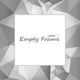 Square empty frame Stock Image