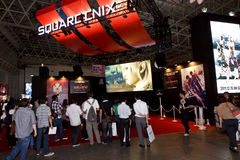 Square Enix Booth of TGS Royalty Free Stock Images