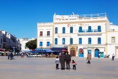 Square in Essaouira, Morocco Stock Photo