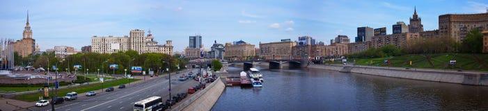 Square of Europe and Borodinsky Bridge Royalty Free Stock Photo