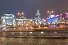 Square of Europe in Moscow. Royalty Free Stock Photo