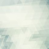 Square faded pattern with triangles Stock Photos