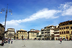 Square of Florence Stock Photography