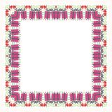 Square Flower Floral Border - Frame with new design Stock Photography