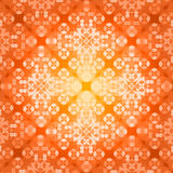 Square flower pattern symmetrical. Bright background Royalty Free Stock Image